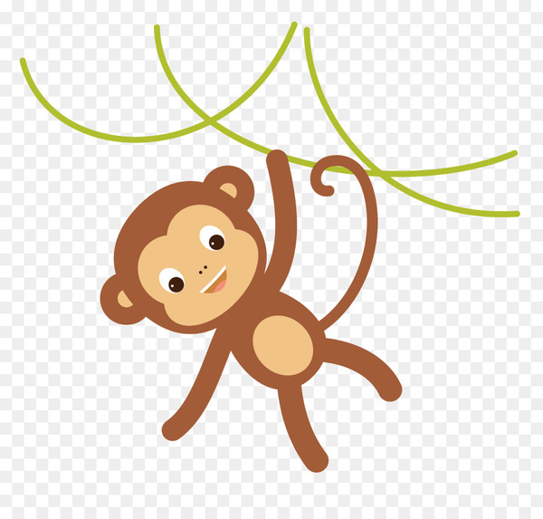Ape Drawing Monkey Cartoon Octopus Png Png Images