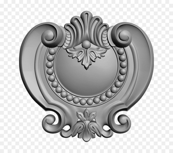 Silver Product design Pattern - cartouche badge  png image transparent background