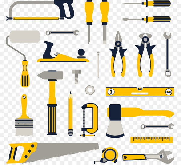 Home repair Set tool Renovation - Vector life working tools  png image transparent background
