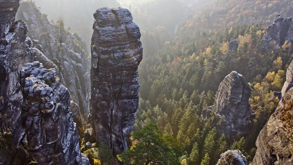 Saxon Switzerland, Rock, Pinnacle, Hell Dog png image transparent background