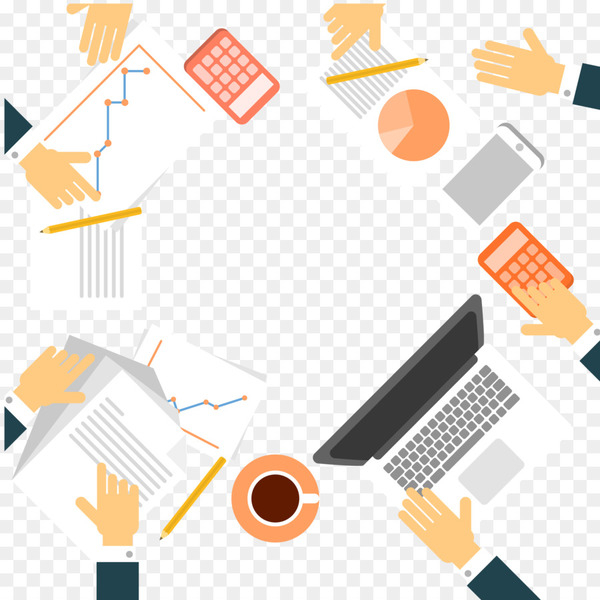 Graphic design Meeting - Business meeting border vector material  png image transparent background