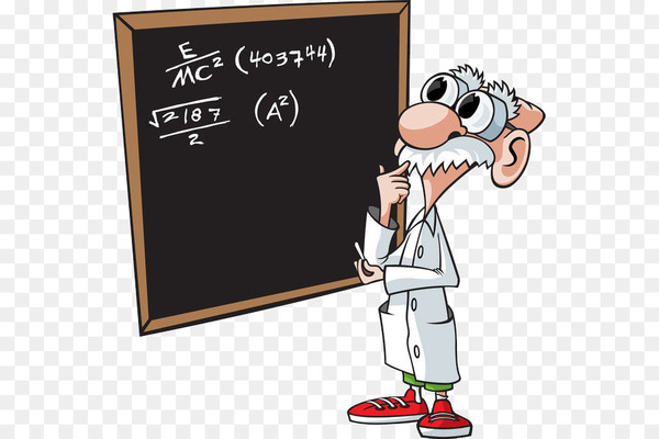 Mathematician Mathematics Stock photography Clip art - A math teacher who thinks  png image transparent background