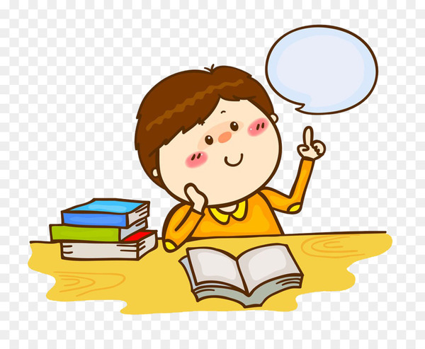 Royalty-free Stock photography Clip art - Children read thinking  png image transparent background