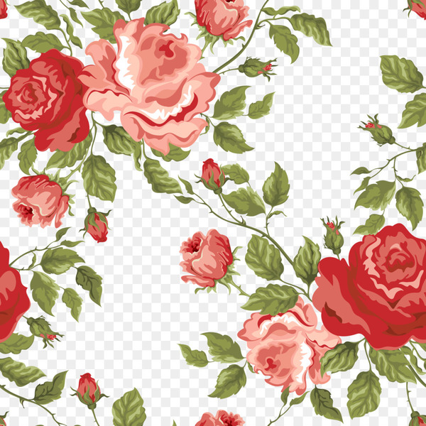 Flower Rose Stock photography Pattern - Floral background  png image transparent background