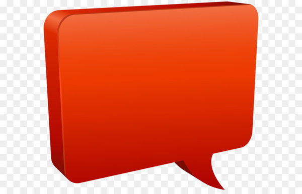 Rectangle Red - Speech Bubble Red PNG Clip Art Image  png image transparent background