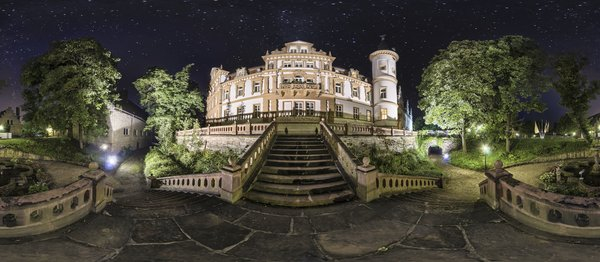 Castle, Night, Germany, Illuminated, Night Photograph png image transparent background