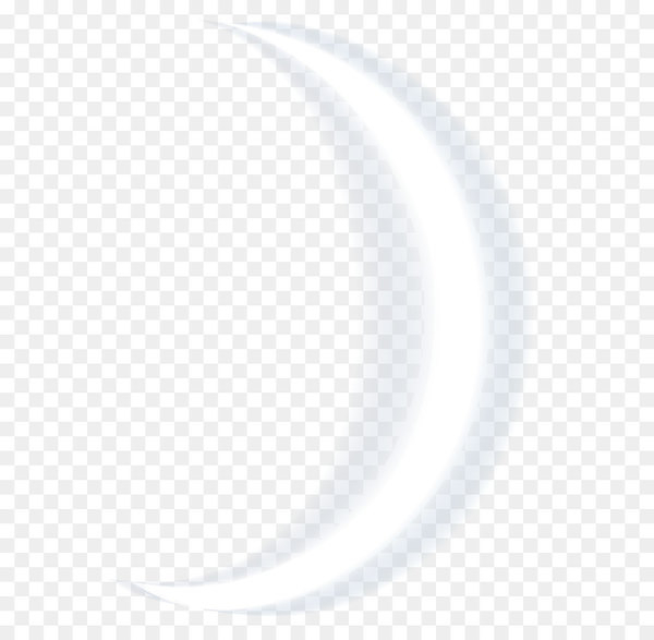 Circle Angle Point Black And White Crescent Moon Png Clip