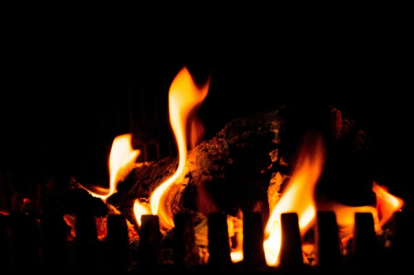 romantic fire burning fireplace png image transparent background