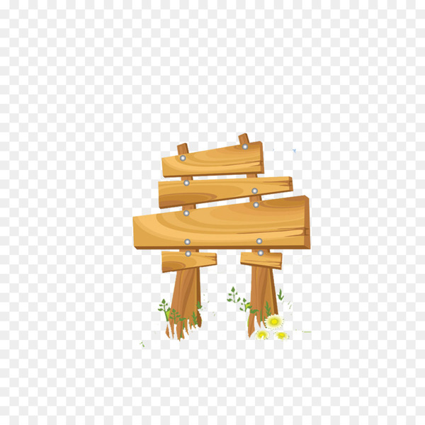 Sign Wood Clip art - Grass wooden bulletin board  png image transparent background