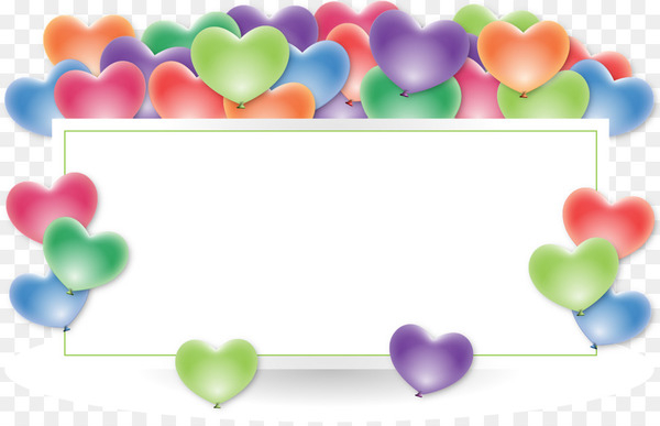 Wedding anniversary Birthday Wish Greeting & Note Cards - balloons  png image transparent background