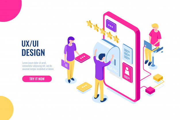 Ux Ui Design Mobile Development Application User Interface Building Mobile Phone Screen Nohat