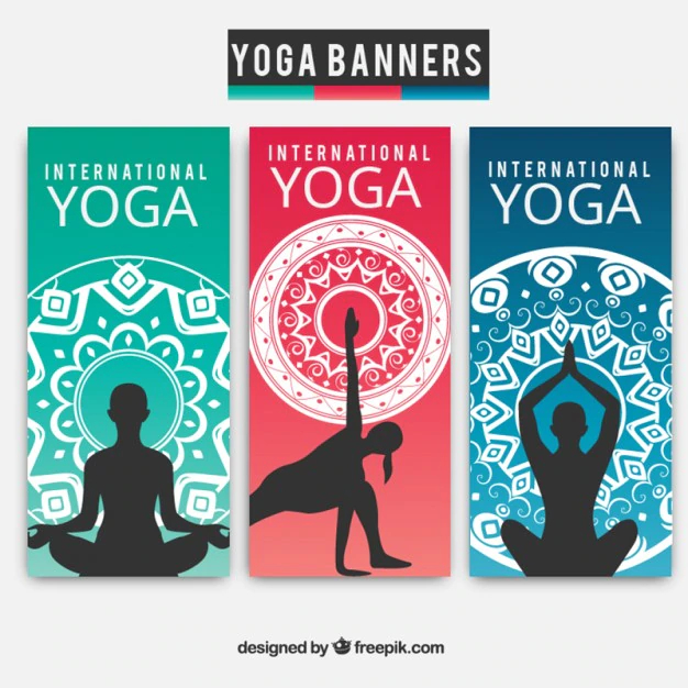Yoga Banner Collection Nohat