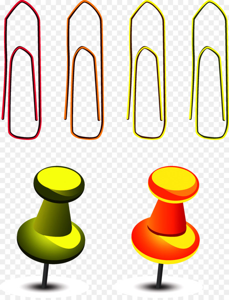 Drawing pin Stationery Clip art - Zigzag pushpin  png image transparent background
