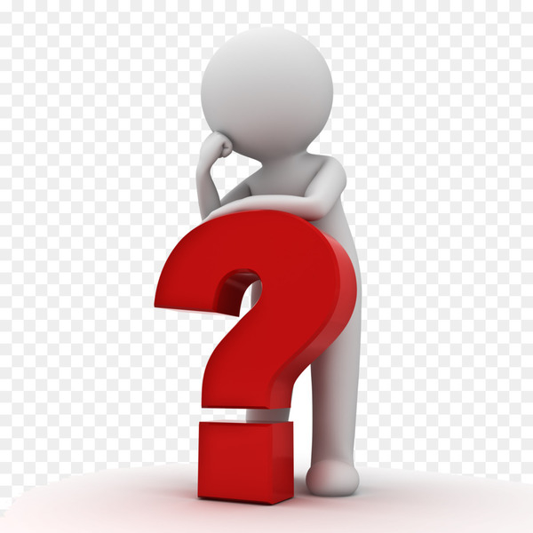 Question mark thinking. Stock photography clip art