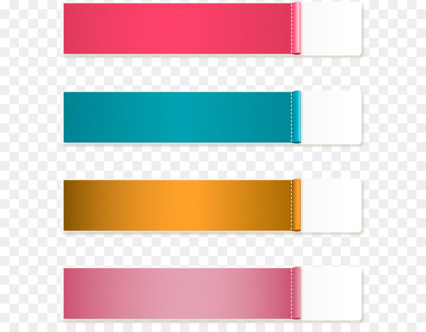 Euclidean vector Adobe Illustrator Clip art - Vector hand colored banners  png image transparent background