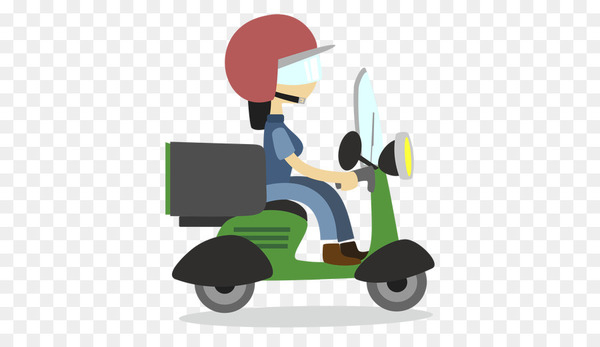 Scooter, Motorcycle, Moped, Motor Vehicle, Cartoon PNG png image transparent background
