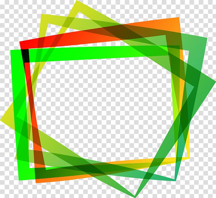 Green Frame If We Creative Colorful Border Transparent Background Png Clipart Png Free Transparent Image