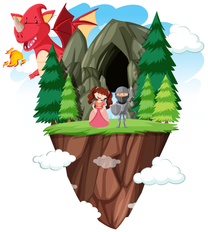 An Isolated Fantasy World Nohat Free For Designer Collection set of various shape crown logos in a cartoon style design on white background. nohat