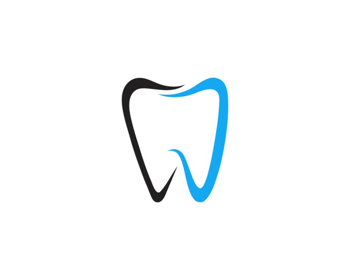 Dental Logo Template Vector Illustration Nohat