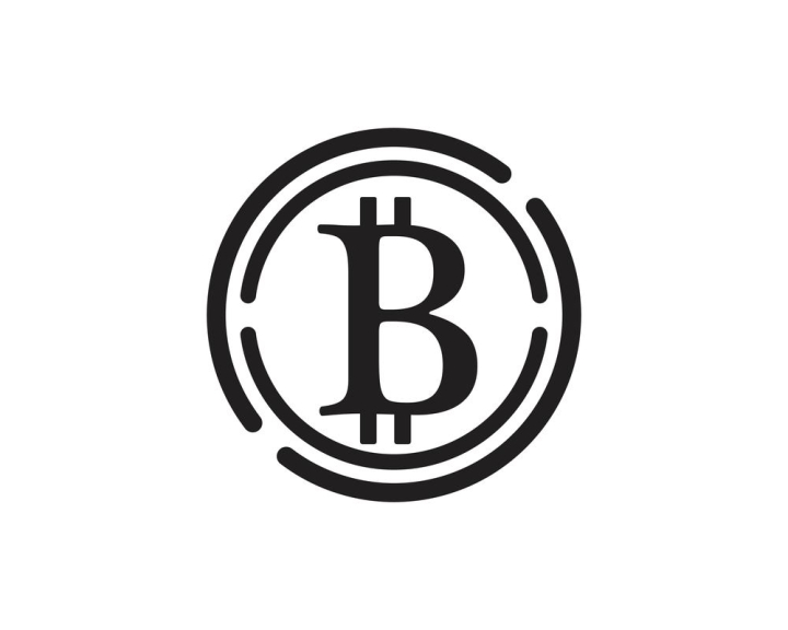 Bitcoin Logo Vector Template Nohat Free For Designer
