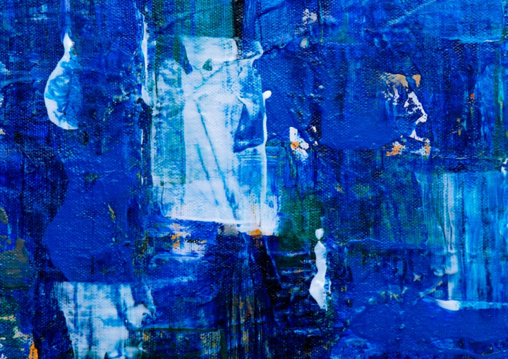 Photo Of Blue Abstract Painting Nohat