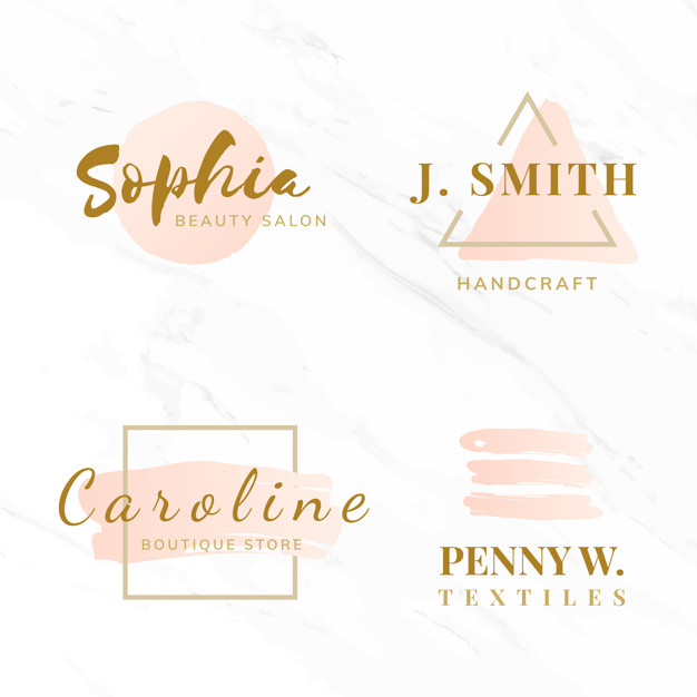 Set Of Beauty And Fashion Logo Design Vectors Free Vector Nohat