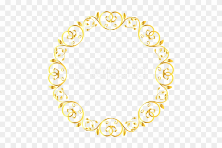 Free Png Download Decorative Round Border Frame Clipart Cute Borders S Png Free Transparent Image
