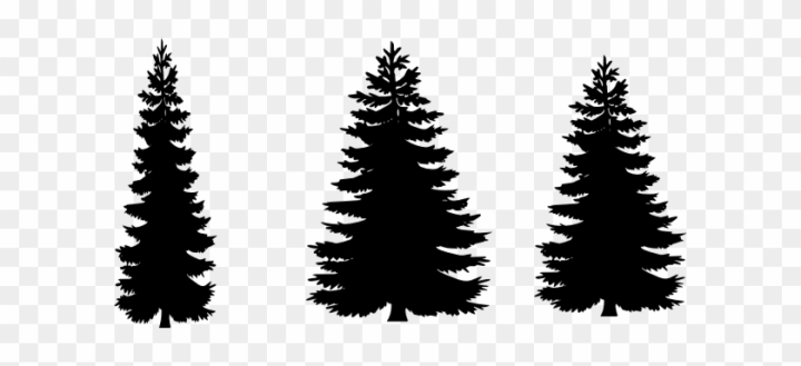 Charlie Brown Christmas Tree Silhouette.12 Free Vector Pine Trees Free Cliparts That You Can Free